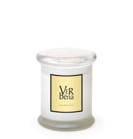 Verbena Frosted Jar Candle