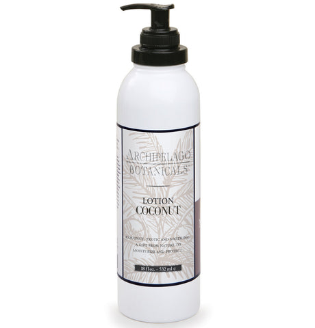 Coconut 18 oz. Lotion