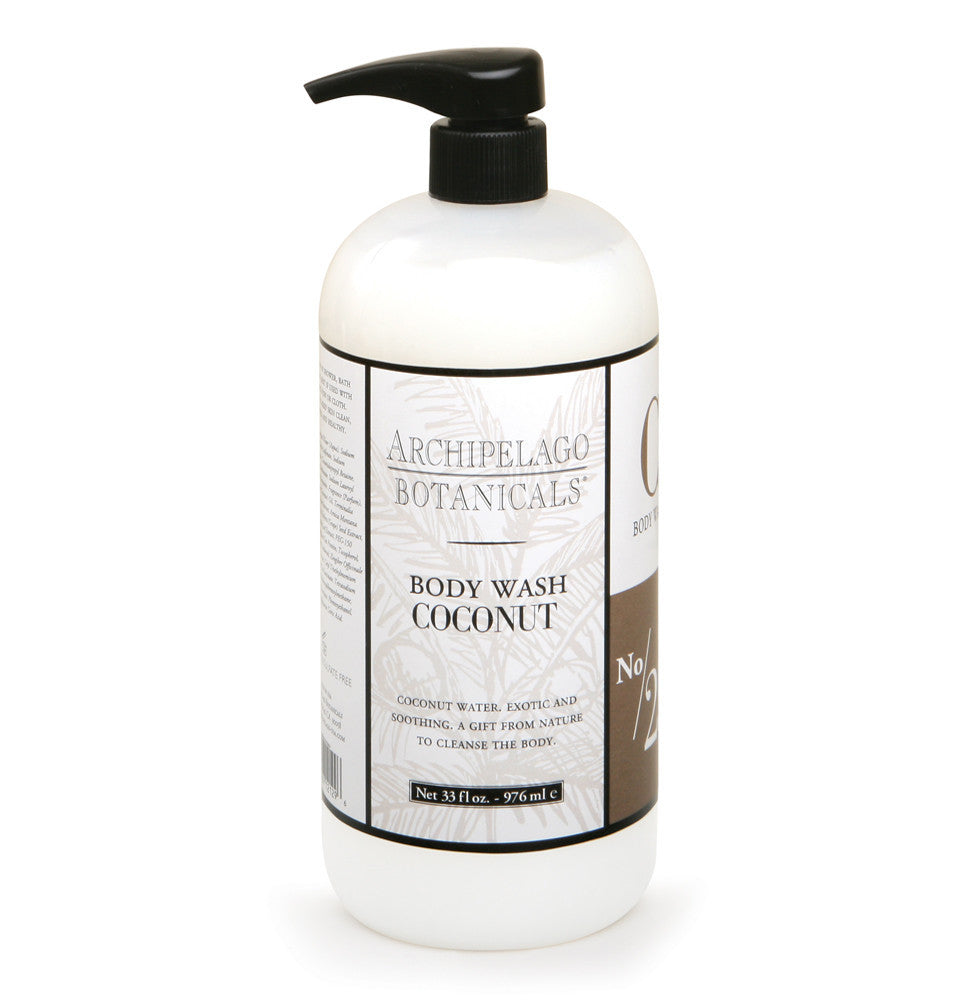 Coconut 33 oz. Body Wash, Body Wash - Archipelago