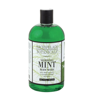Morning Mint 17 oz. Body Wash Wild Mint and Fresh Basil