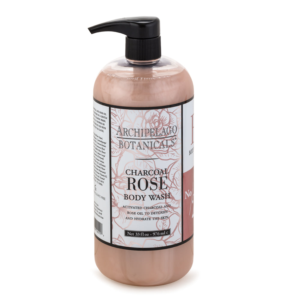 Charcoal Rose Body Lotion is filled with the benefits of activated charcoal and fresh roses that will remove toxins while leaving your skin feeling refreshed and hydrated.