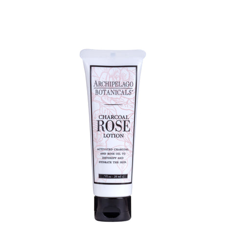 Charcoal Rose Travel Size Lotion