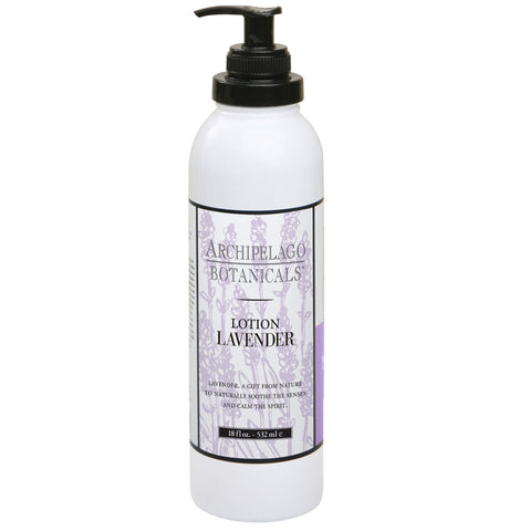 Lavender 18 oz. Lotion