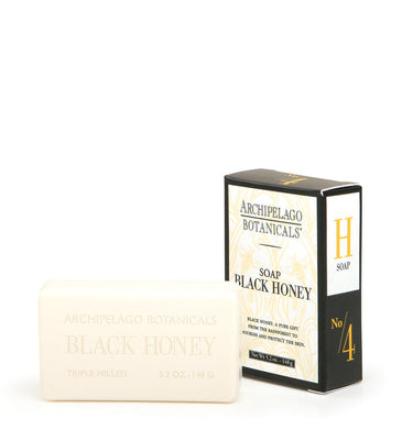 Black Honey Bar Soap is triple milled and contains rich nutrients that will moisturize, soften, and smooth the skin while it cleanses