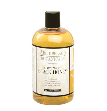 Black Honey 17 oz. Body Wash, Body Wash - Archipelago