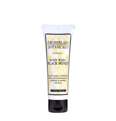 Black Honey Travel Sized Body Wash is filled with the power humectant Black Honey which moisturizes, Softens, and Protects while it cleanses