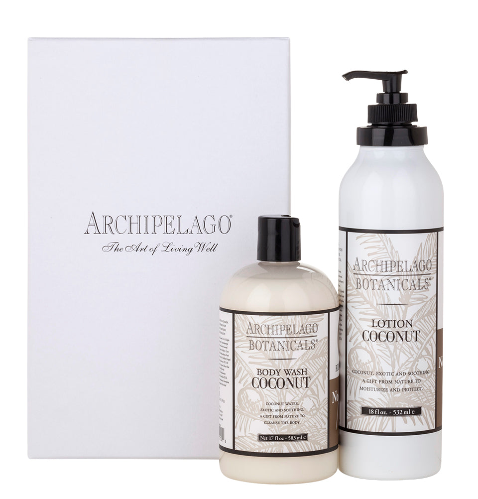 Coconut Body Wash & Lotion Set