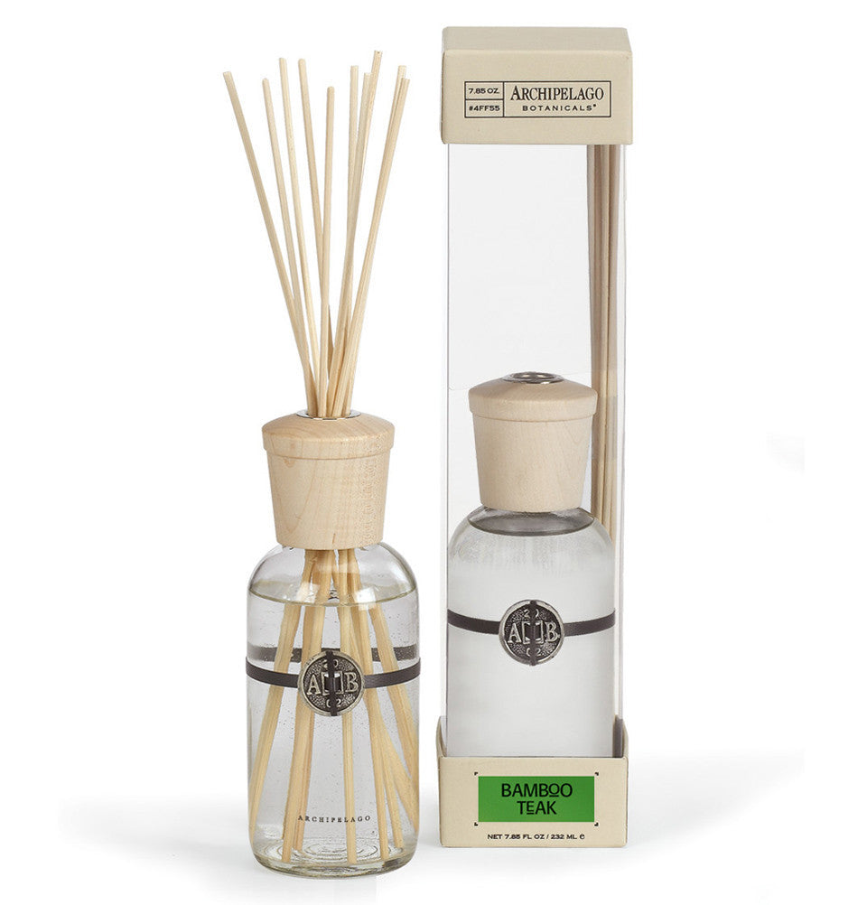 Bamboo Teak Diffuser, Reed Diffuser, Full Size - Archipelago