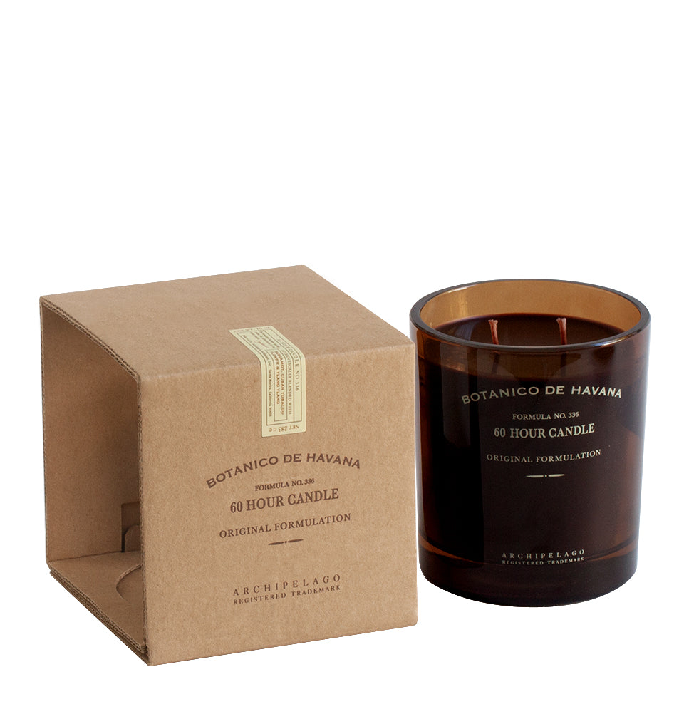 Botanico de Havana Glass Boxed Candle