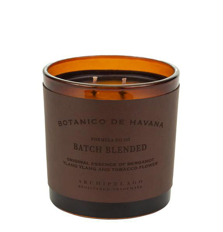 Botanico de Havana Letter Press Candle