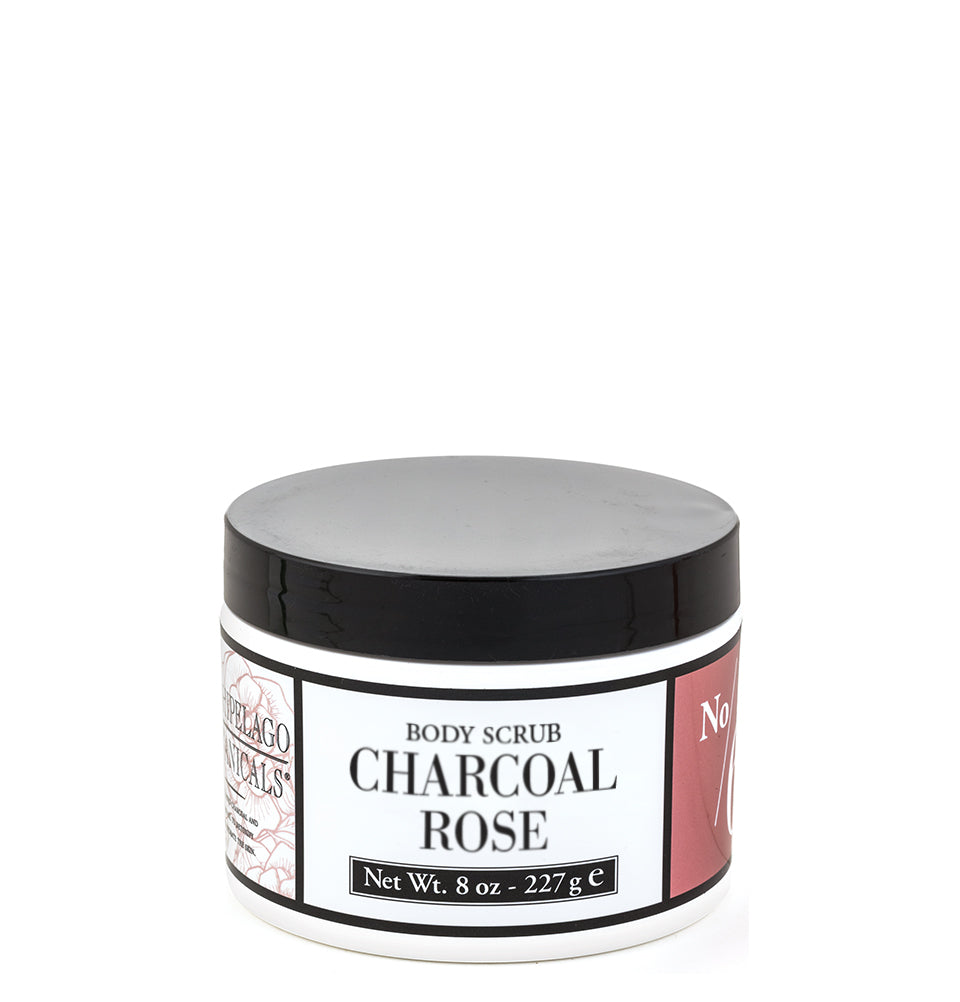Charcoal Rose Body Scrub