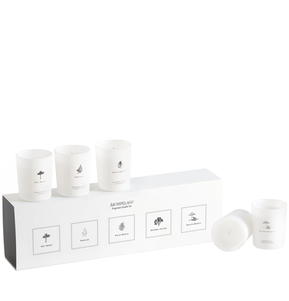 Florida Coast Votive Gift Set