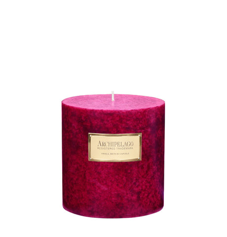 Pink Peppercorn Medium Pillar Candle