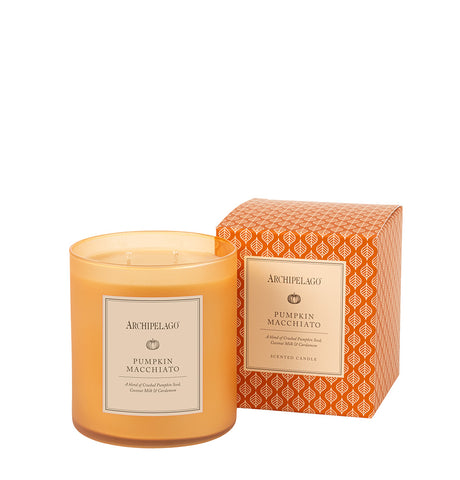 Pumpkin Macchiato Boxed Candle