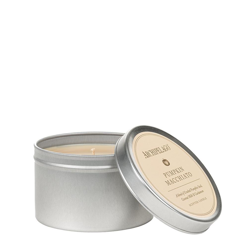 Pumpkin Macchiato Travel TIn Candle