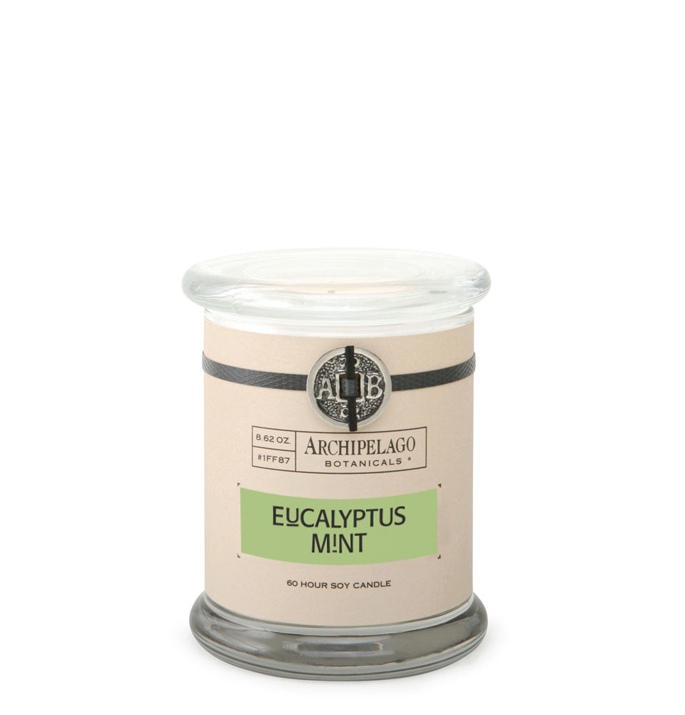 Eucalyptus Mint Glass Jar Candle