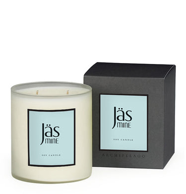 Jasmine Boxed Candle is blended with Jasmine, Gardenia, and Orange Blossoms with Lilies and Musk to create this lushly opulent scent - Archipelago