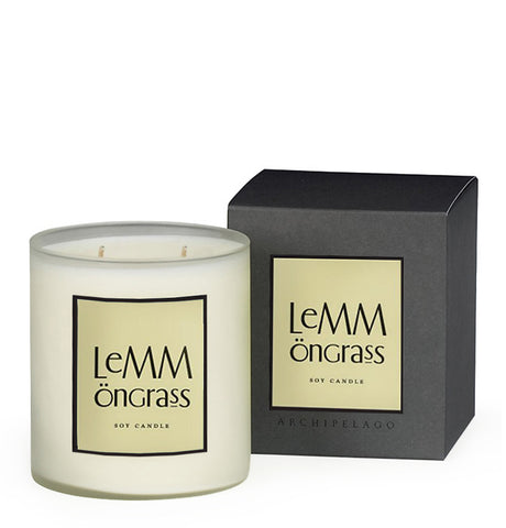 Lemmongrass Boxed Candle