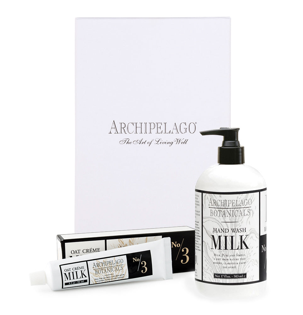 Oat Milk Hand Care Gift Set for you to experience the benefits of Oat and Soy Proteins