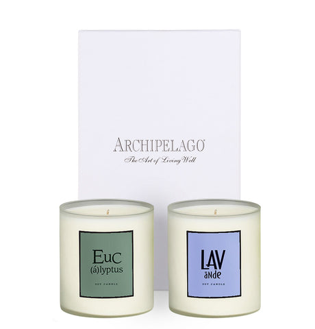 Relaxing Boxed Candle Duo