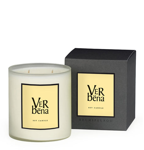 Verbena Boxed Candle