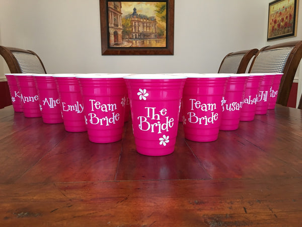 Pink Insulated Party Cups