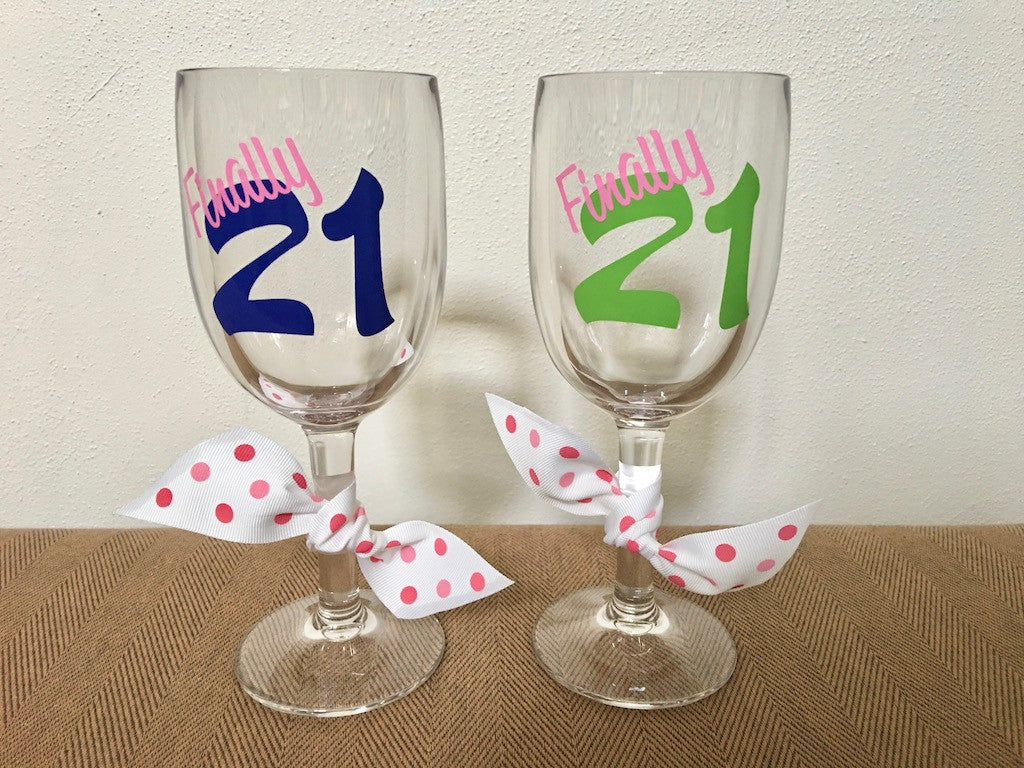 Finally 21 Unbreakable Wine Glass