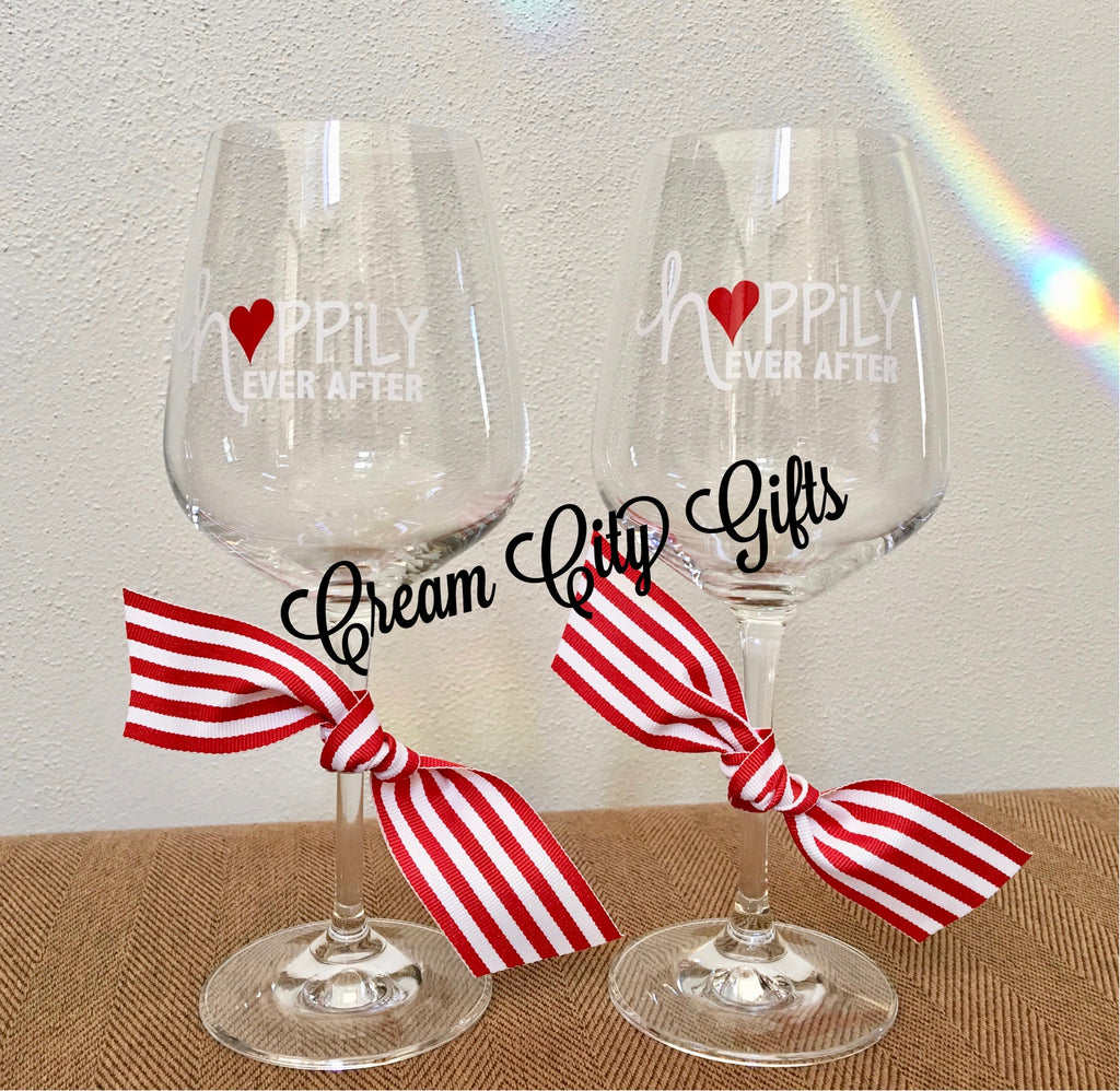 Happily Ever After Glass Set