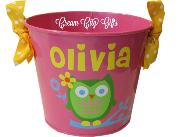 Adorable Owl Bucket