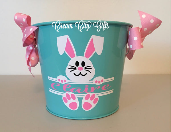Split Bunny Bucket