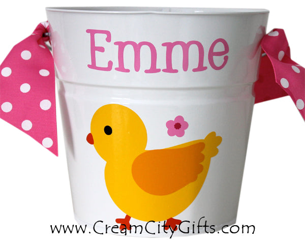 Easter Chick Bucket