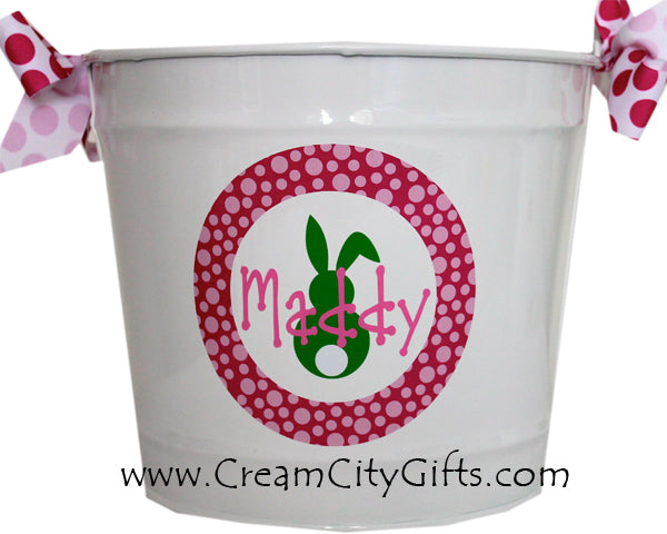 Circled Bunny Bucket