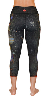 planets yoga legging capris back
