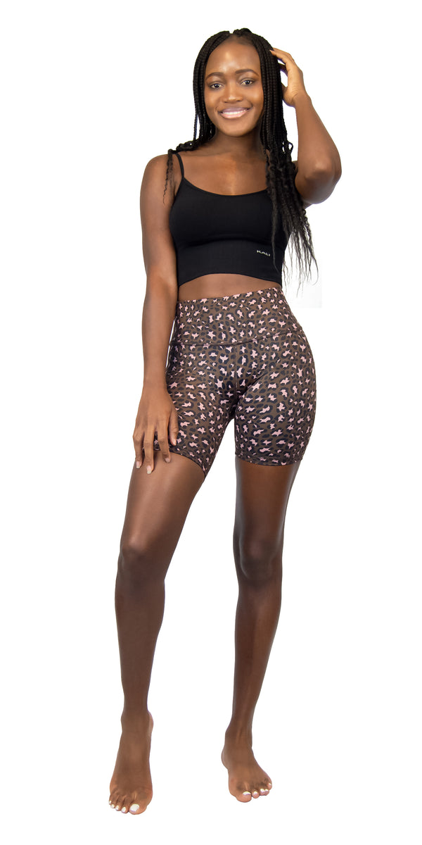 Coffee Leopard - Shorts