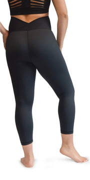Maternity Capri Leggings - Black