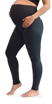 Maternity Long Leggings - Black