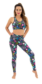 Spring Flourish - Legging
