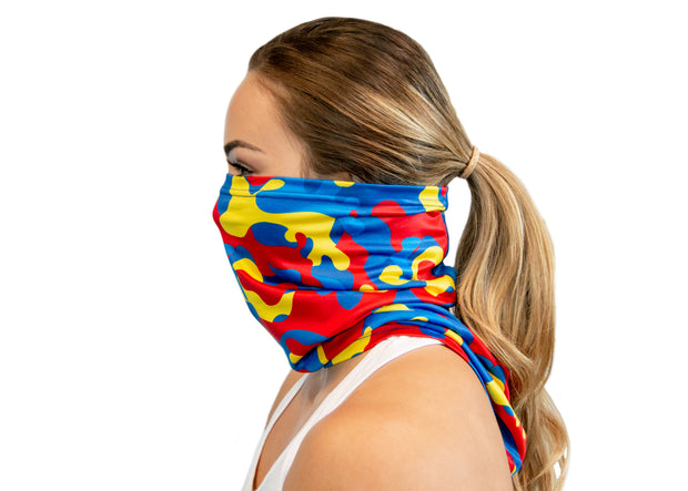 Primary Camo - Neck Gaiter