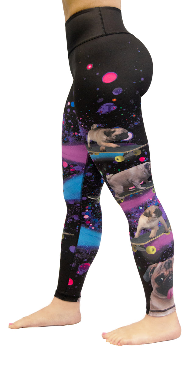 Pugs in Space - Legging