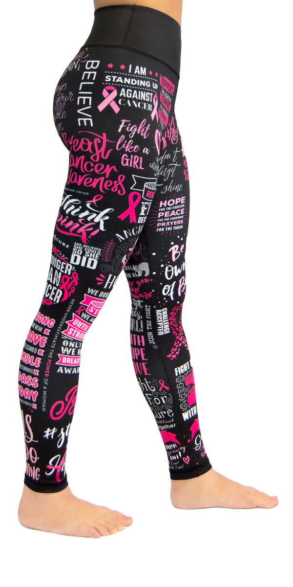 Fight Like a Girl! (Breast Cancer) - Legging