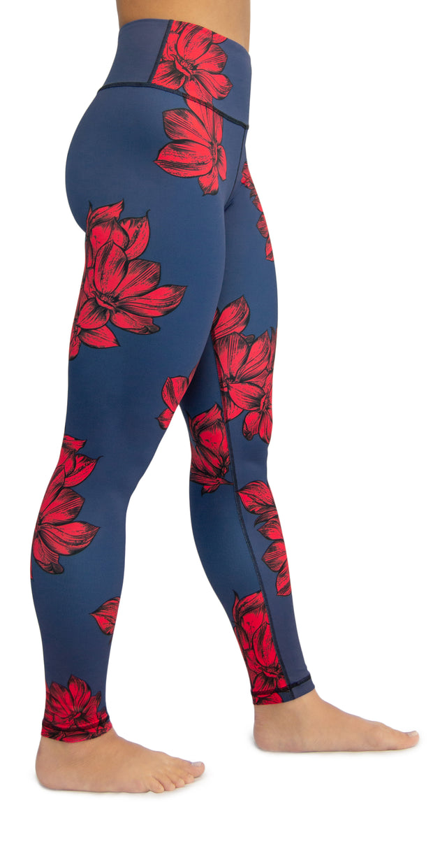 Midnight Bloom - Legging