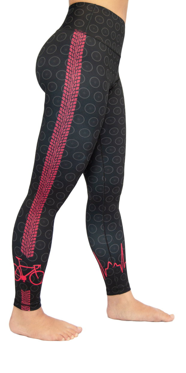 Right on Track - Black - Legging