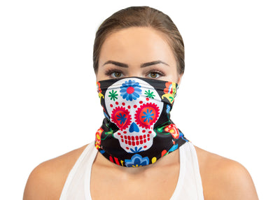 Sugar Skulls - Neck Gaiter