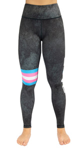 Love Yourself (Trans Flag) - Legging
