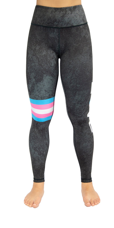 Love Yourself - Trans Flag - Legging