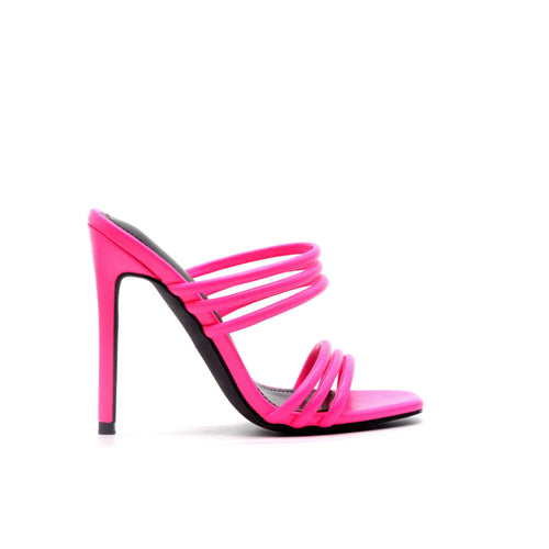 Kelly Pink Strappy Open Toe Sandal