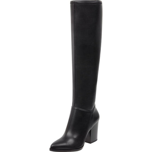 ANATA2 Fabric Pointed Toe Knee High Fashion Boots