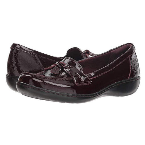 Ashland Bubble Burgundy Patent Leather Slip On