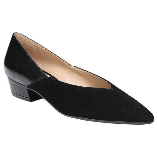 Betty Black Suede Slip On
