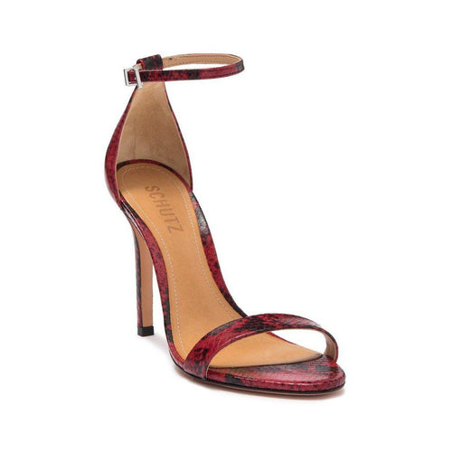 Cadey Lee Open Toe Sandal Scarlet